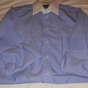 NAUTICAL LONG SLEEVES SHIRT with white collar
